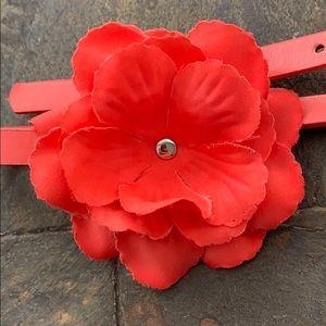 Accessories - Toddler Girls Adjustable Belt with Flower